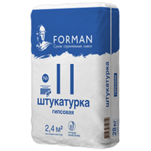 Штукатурка Forman 11 гипсовая
