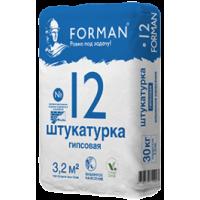 Штукатурка Forman 12 гипсовая