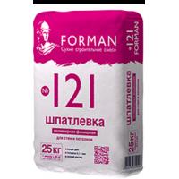 Шпатлёвка Forman 121 финишная