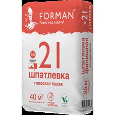 Шпатлёвка Forman 21 финишная