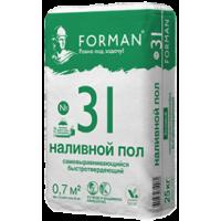 Наливной пол Forman 31 базовый