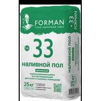 Наливной пол Forman 33 финишный