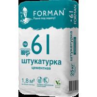 Штукатурка Forman 61 цементная