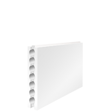 Пустотелая пазогребневая плита E80