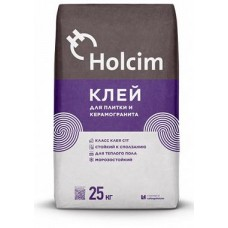 Клей для плитки и керамогранита Holcim C1T