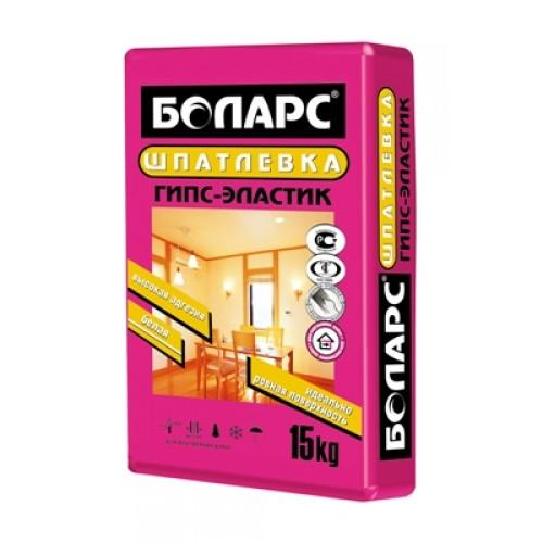 Шпатлёвка Боларс гипсовая ГИПС-ЭЛАСТИК