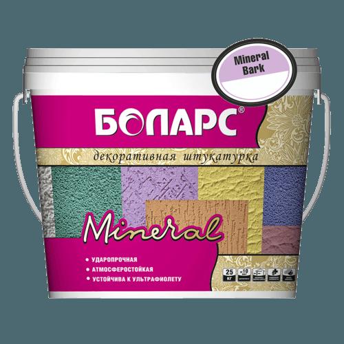 Минеральная штукатурка Боларс Mineral Bark