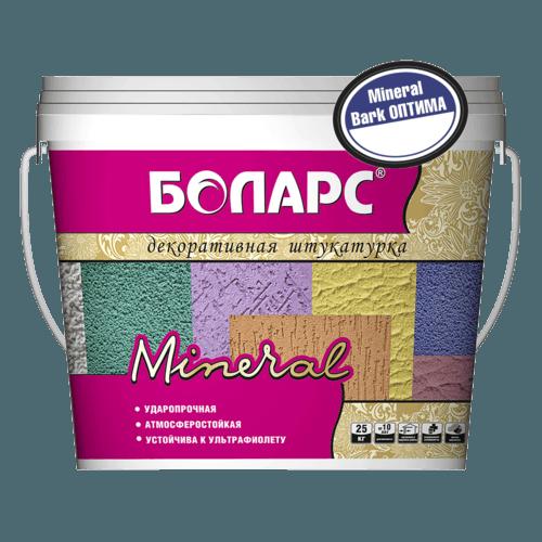 Декоративная штукатурка Боларс Mineral Bark Оптима